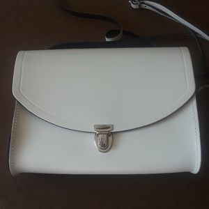 LEATHER CROSSBODY  BAG.MADE IN GREAT BRITAIN.